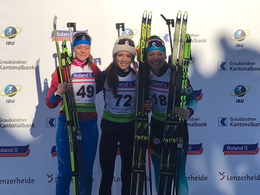 Biathlon -  Stupenda Linda Zingerle: è campionessa del mondo nella sprint Giovani