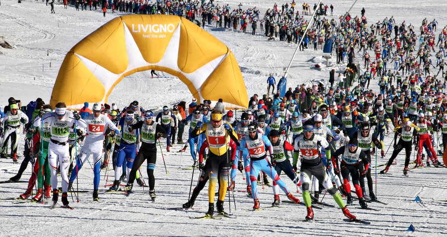Fondo: a Livigno l'ouverture Visma Ski Classics 2019\20
