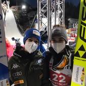 Salto con gli sci - Il commento di Jessica e Lara Malsiner dopo la gara dal trampolino piccolo