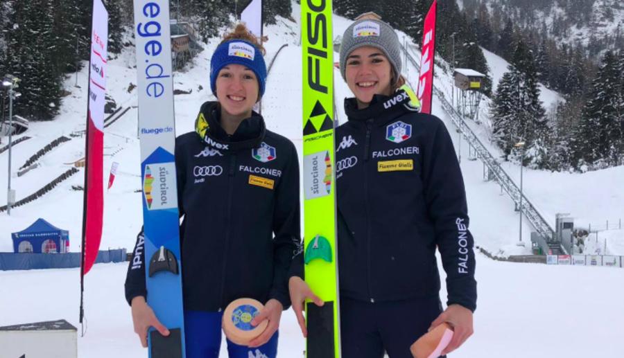 Salto - Quattro uomini e due donne rappresenteranno l'Italia al Mondiale di Oberstdorf