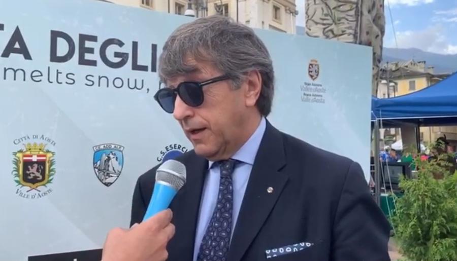 """Pietro Marocco (vicepresidente FISI) sottolinea l'importanza dei Gruppi Sportivi Militari: """"Sono gli assi su cui si basa la possibilità di sviluppare lo sport nel nostro paese..."""" (VIDEO)"""