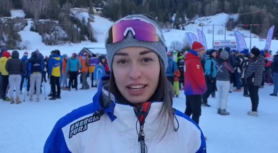 """Fondo, Martina Bellini in vista della tappa di Alpen Cup di Pragelato: """"La forma sta crescendo, spero in un bel risultato"""" (VIDEO)"""