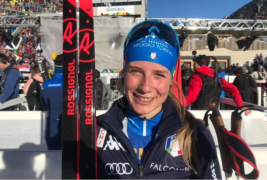 """Anterselva 2020, ottima 49^ posizione per Michela Carrara nell'individuale """"Oggi bene sugli sci, questo è positivo per il prosieguo di Mondiale"""""""