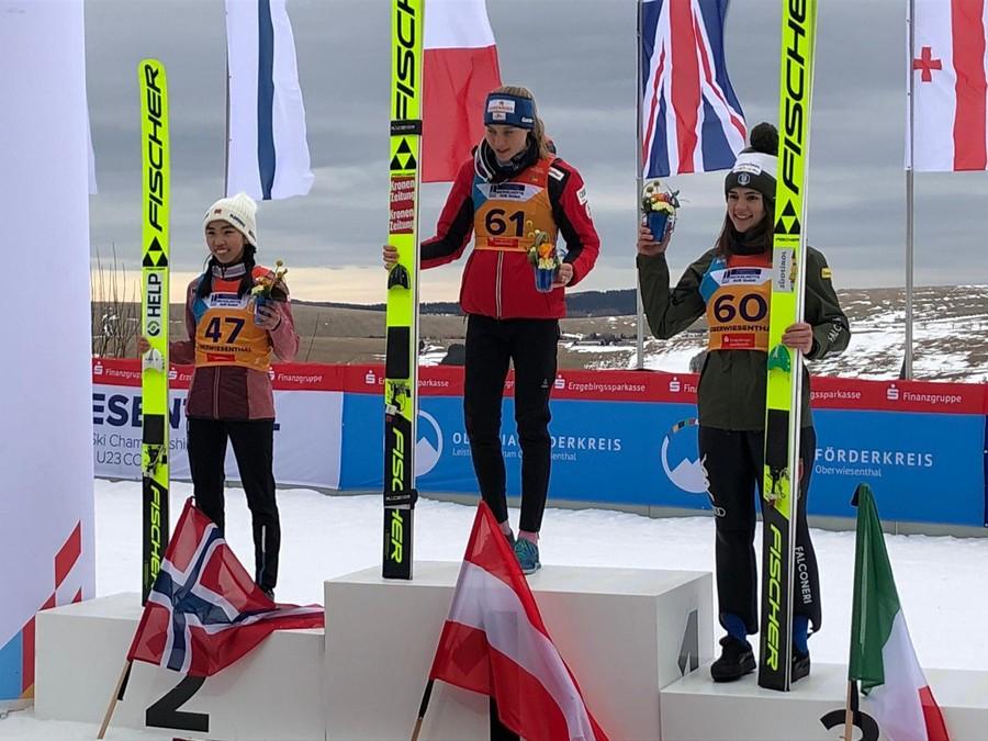 Salto, Mondiali Juniores - Bronzo di Lara Malsiner nella gara dominata da Marita Kramer