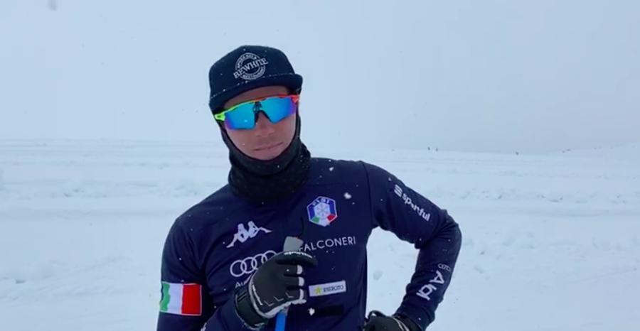 """VIDEO, Fondo - Maicol Rastelli: """"Punto sulla sprint in classico di Oberstdorf, ma ora penso solo alla preparazione"""""""