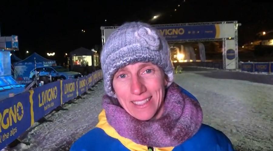 """Livigno, Marianna Longa quarta alla Sgambeda: """"Doveroso per me essere qui, è stato davvero bello"""" (VIDEO)"""