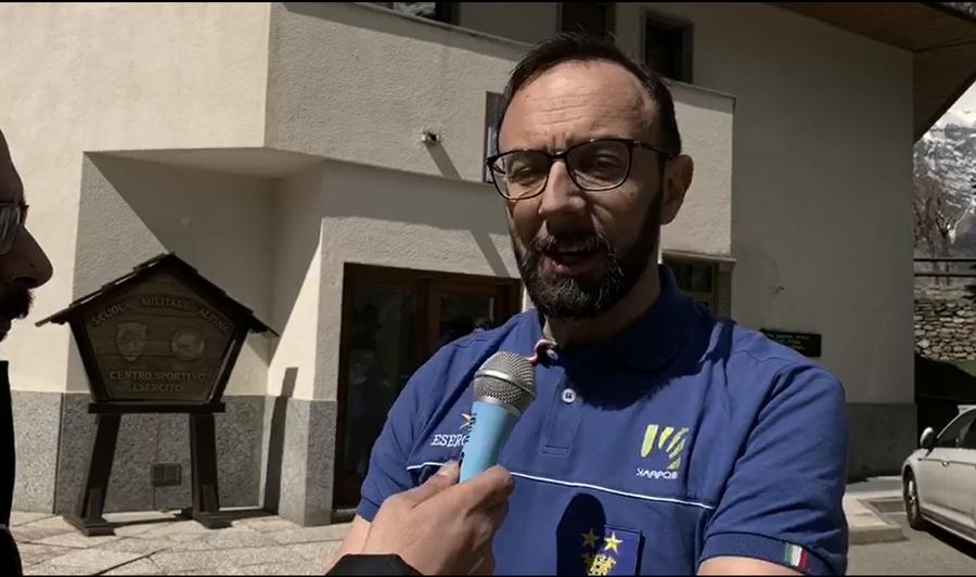 """Courmayeur - Il dott. Massimo Stella (Ten. Col. Esercito): """"Lieve calo degli infortuni rispetto all'anno precedente"""""""