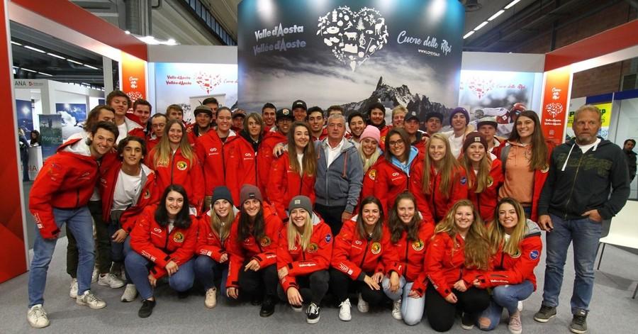 Modena: iniziata a Skipass la stagione dei maestri di sci della Valle d'Aosta, Beppe Cuc: «Classificazione dei livelli unica in tutta Italia»