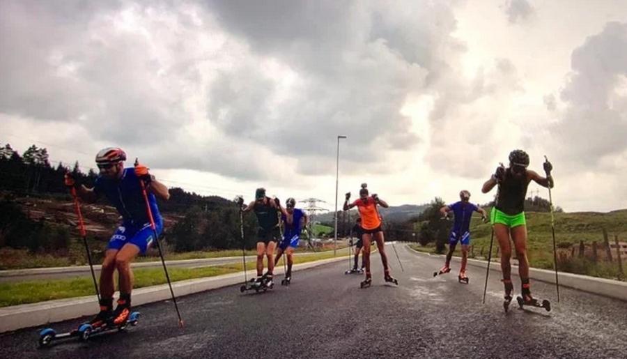 I big azzurri di fondo e biathlon si stanno allenando insieme in Norvegia