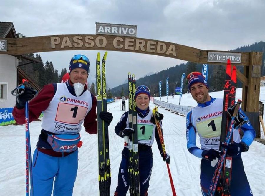Fondo – Campionati italiani Senior a Passo Cereda: vincono la staffetta mista le Fiamme Oro Moena - A