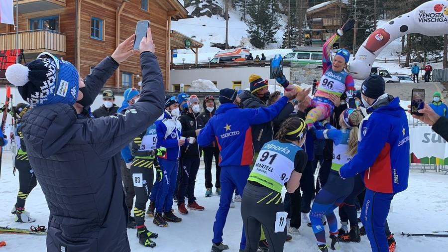 """Nicole Gontier a Fondo Italia: """"Chiudo la mia carriera agonistica, ma non è un addio al biathlon"""""""