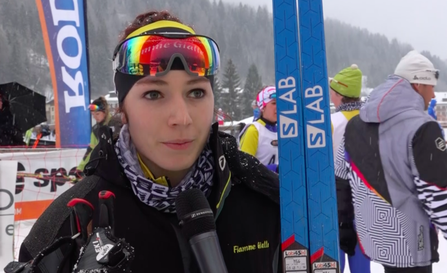 Fondo - Coppa Italia Rode femminile: Nicole Monsorno vince anche l'inseguimento