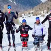 La nazionale paralimpica di sci di fondo è tornata a Livigno sognando Pechino
