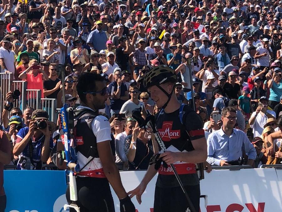 "Biathlon - Johannes Bø: ""Fourcade mi sembra in forma, sarà un bel duello"""