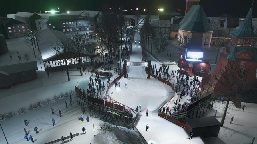 Come apparirà il nuovo finale: foto Visma Ski Classics