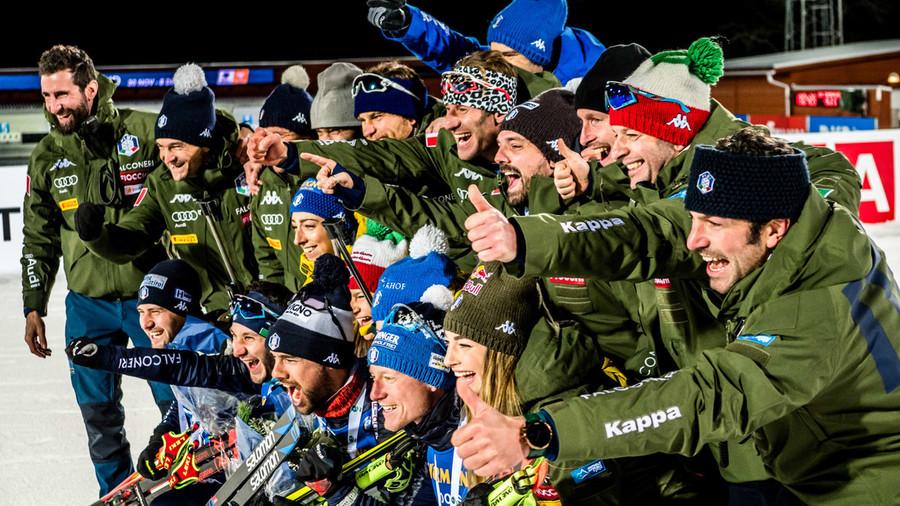 L'Italia vincente ad Östersund