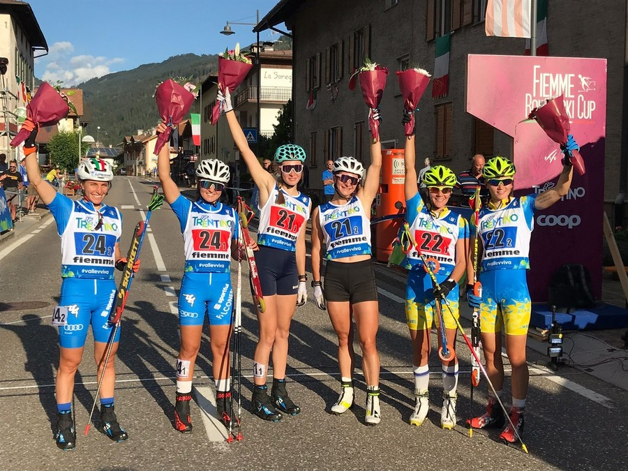 Skiroll - Mondiali Val di Fiemme, è argento per le due Elisa: Sordello e Brocard seconde dietro la Russia!