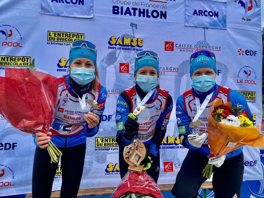 Foto: pagina facebook Equipe de France de Biathlon