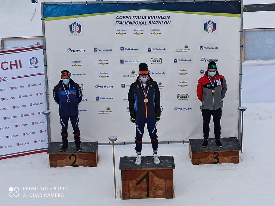 Biathlon - Coppa Italia: vincono Nicolò Betemps tra i Giovani e Paolo Barale negli Aspiranti