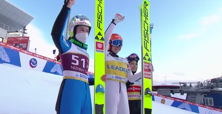 Salto con gli sci - Immensa Kramer, sua anche la seconda gara di Nizhny Tagil; Kriznar torna in vetta alla generale