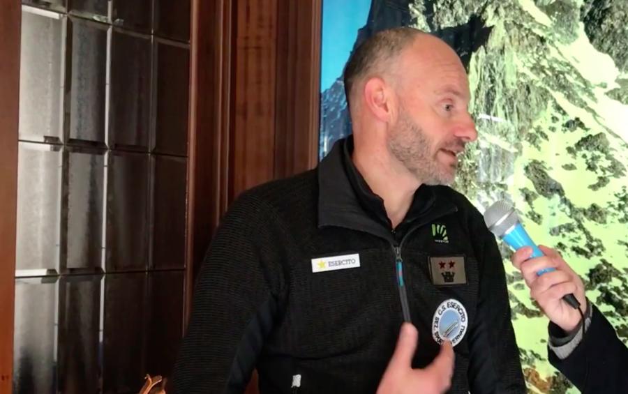 VIDEO - Sci Alpinismo, intervista a Patrick Farcoz comandante del Centro Sportivo Esercito