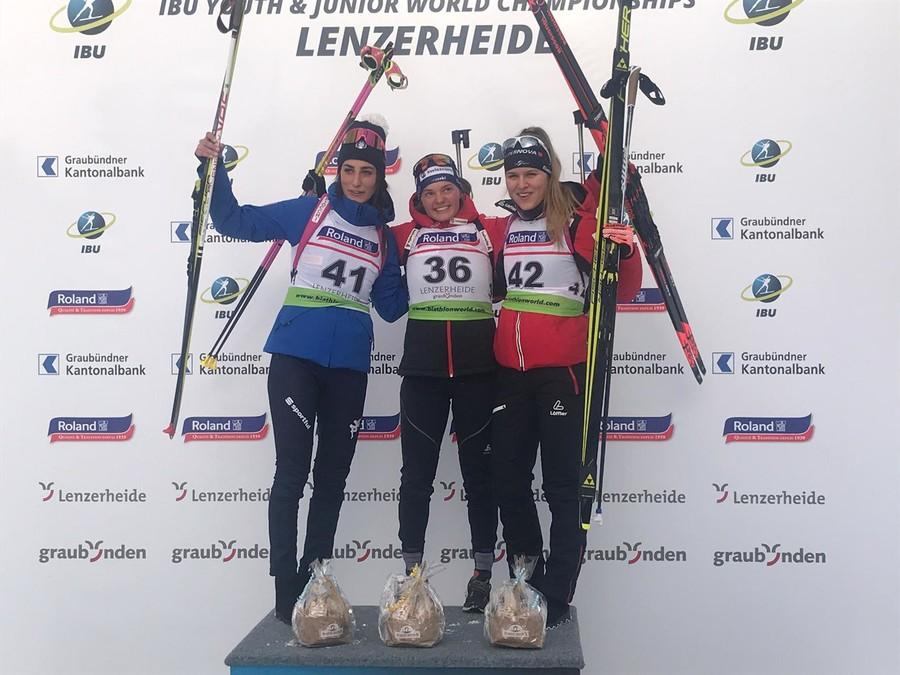 Biathlon - Mondiali Giovani: è medaglia d'argento per Rebecca Passler nell'individuale