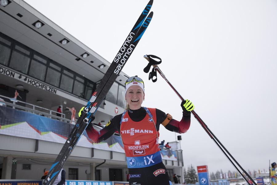 """Biathlon - Marte Røiseland: """"Mi è mancato il pubblico, crea un'atmosfera tale da farti capire che fai qualcosa di speciale"""""""