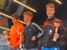 Il podio Under 16 maschile