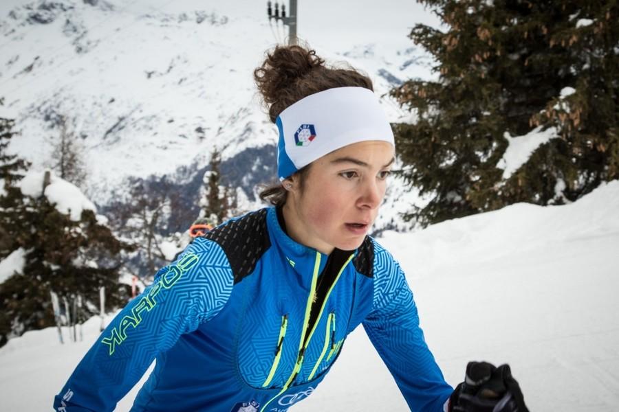 Samantha Bertolina seconda nel Vertical donne Junior. L'Italia piazza anche Lisa Moreschini sul podio, terza