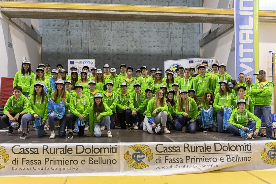 Presentate le squadre dello Ski College Veneto di Falcade