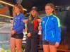 Il podio Under 16 femminile