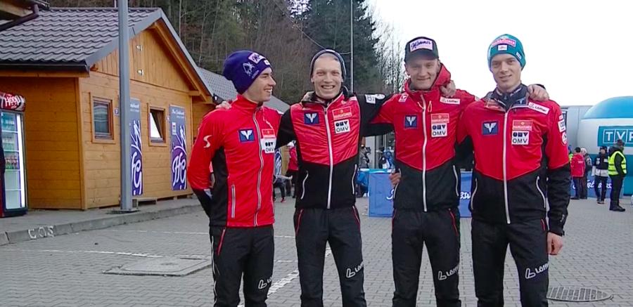 Salto - Successo austriaco in un equilibrato team event di Wisla