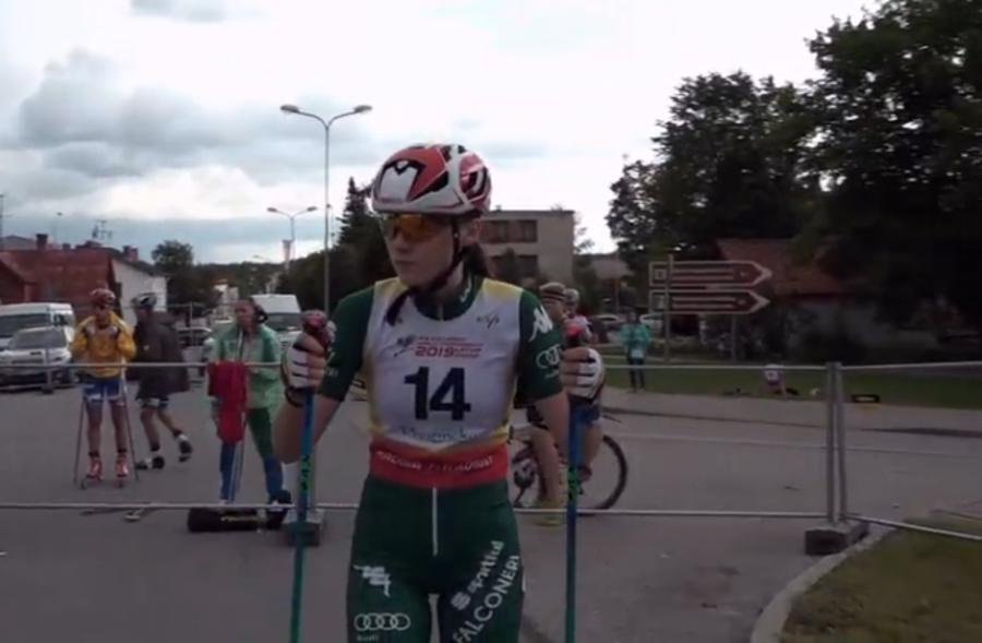 Skiroll, Coppa del Mondo Junior - Laura Mortagna è terza e vola in vetta alla generale