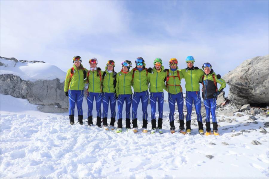 Sci Alpinismo - Terminato il raduno sullo Stelvio della squadra del Comitato Veneto