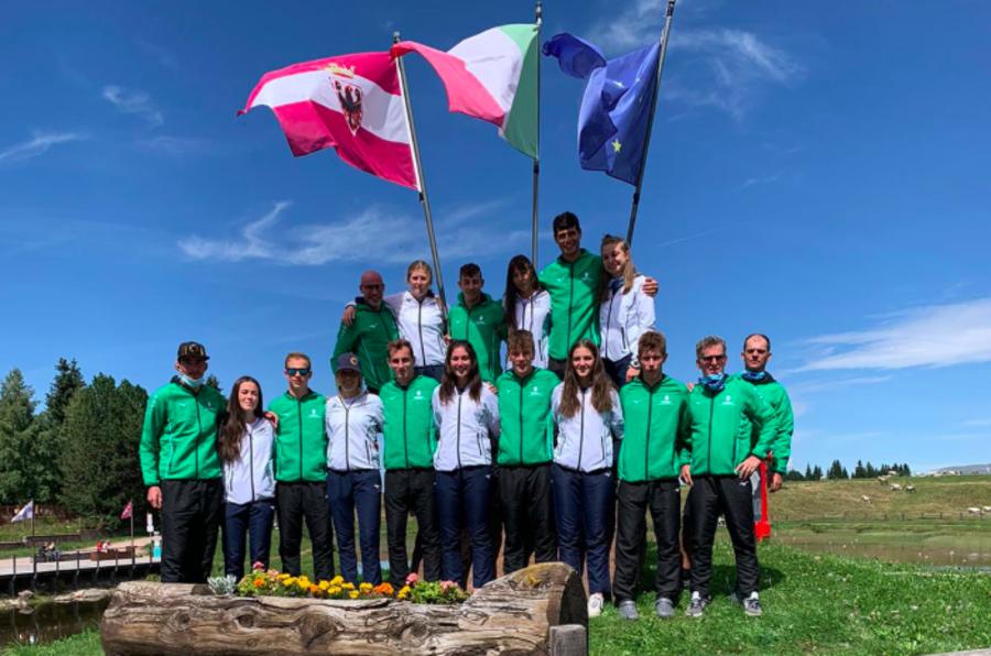 Fondo - La squadra del Comitato FISI Alpi Centrali in raduno a Tirrenia