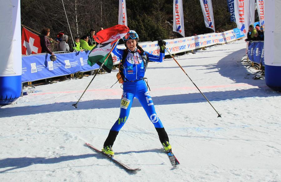 Giulia Murada vince l'oro mondiale (Foto di Karl Posch)