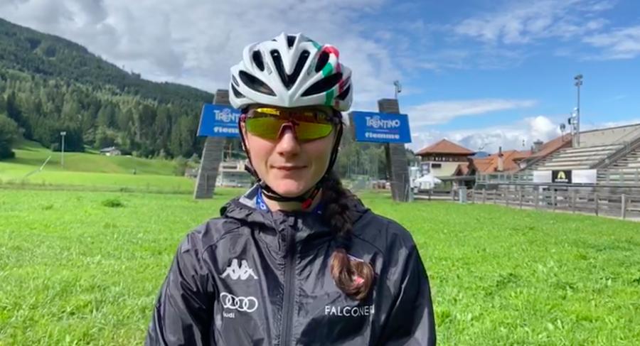 """VIDEO - Skiroll, intervista a Laura Mortagna: """"I raduni con la squadra aiutano a tenere alta la motivazione"""""""