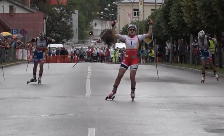 Skiroll, Coppa del Mondo Junior - Arnesen imbattibile nella sprint, Alba Mortagna è seconda
