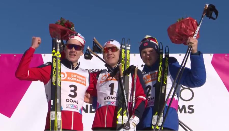 Mondiali Under 23: tripletta norvegese nella sprint maschile