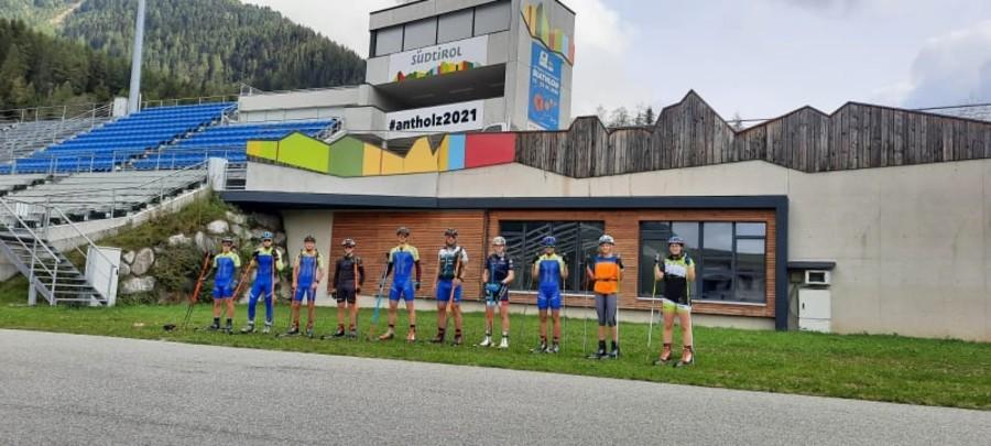 È in corso il raduno della squadra di skiroll del Comitato FISI Veneto