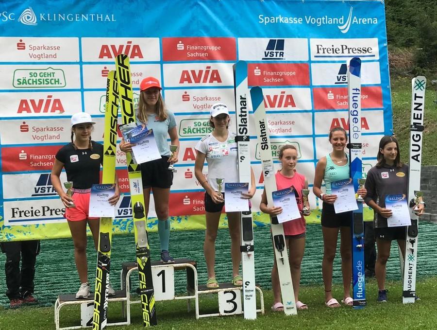 Salto femminile - OPA Cup, Jenny Nowak si impone nella seconda gara di Klingenthal