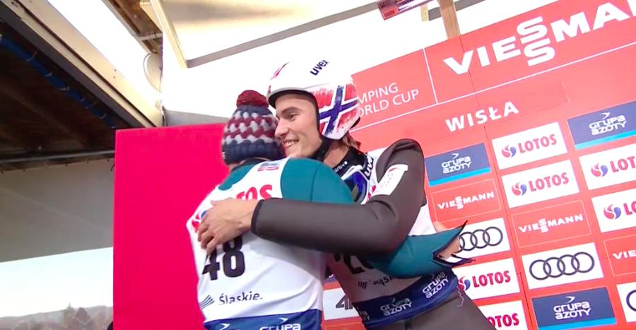 Salto con gli sci - Ad una settimana dalla terribile caduta, Daniel Andre Tande è tornato in Norvegia