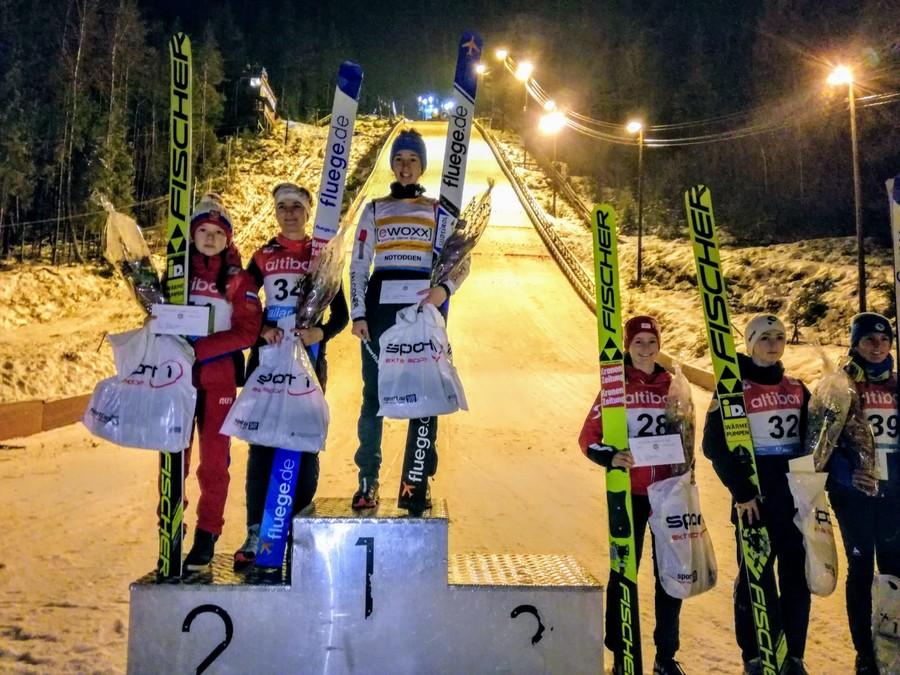 Salto - Jessica Malsiner, che colpo: esordio con vittoria in Continental Cup!