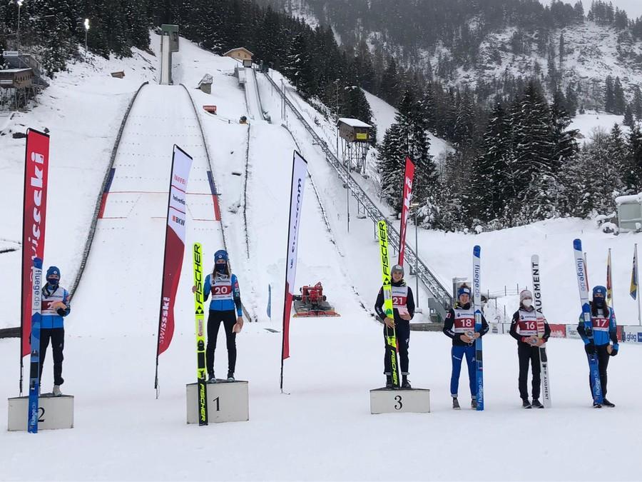 Salto con gli Sci - FIS Cup: doppietta francese a Kandersteg, Lara Malsiner è terza