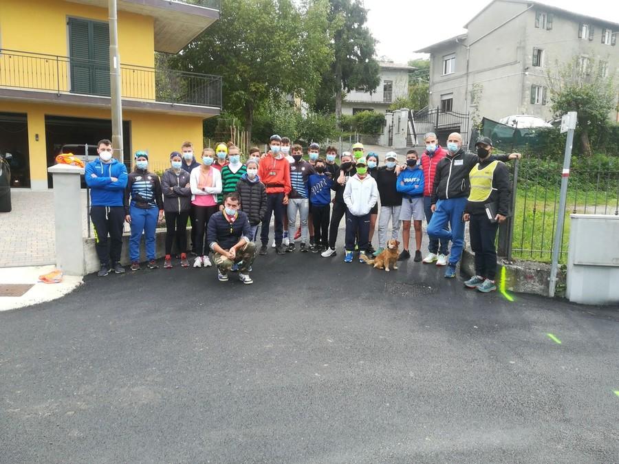 Fondo - Test sugli skiroll per i giovani del Comitato Appennino Emiliano