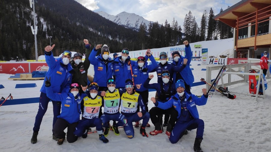 Biathlon - Bronzo per la staffetta maschile italiana ai Mondiali Youth