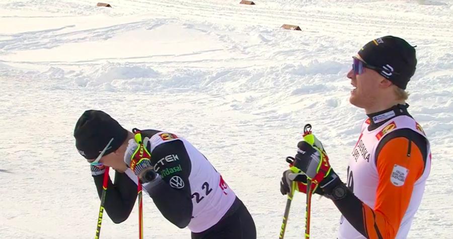 Sci di Fondo - Oskar Svensson fa sua la sprint di Bruksvallarna davanti a Halfvarsson