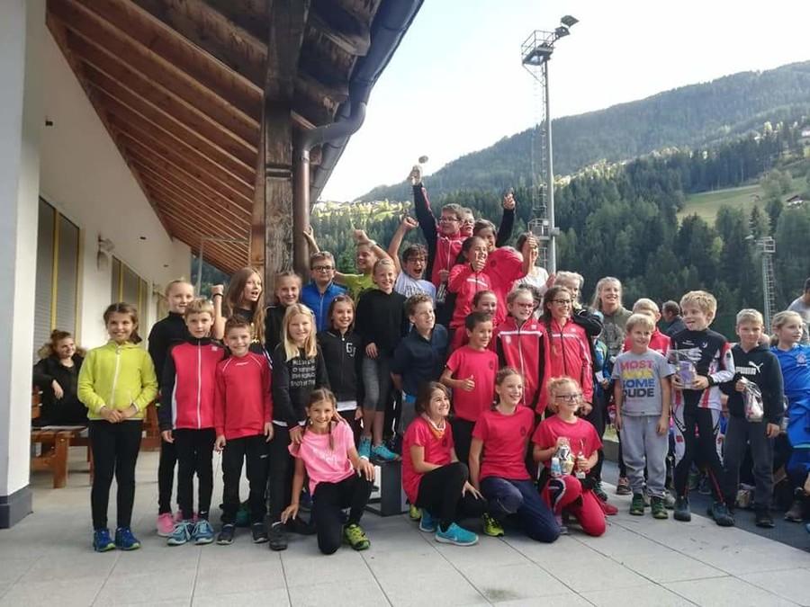 """Biathlon: a Moso si è svolto il 4° """"Sommer-Biathlon"""" del Comitato Alto Adige"""