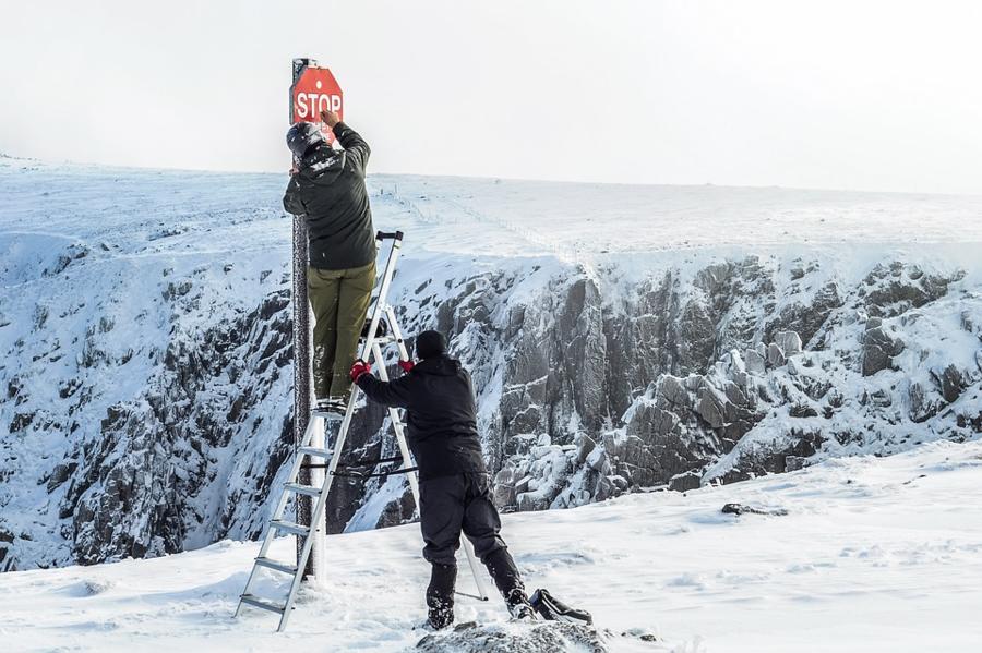 L'alpinista e dottoressa Paola Gigliotti invita ad evitare di sciare ora