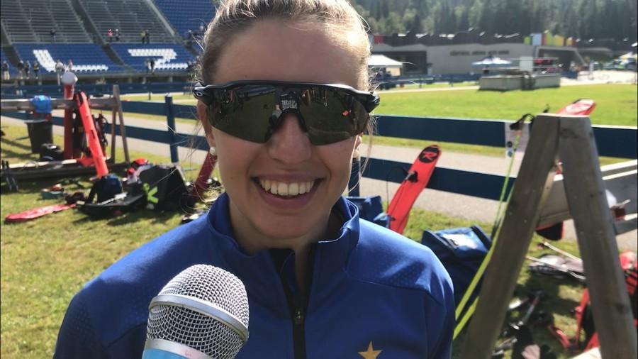 """Biathlon - Samuela Comola: """"Penso di aver lavorato molto bene in estate"""""""